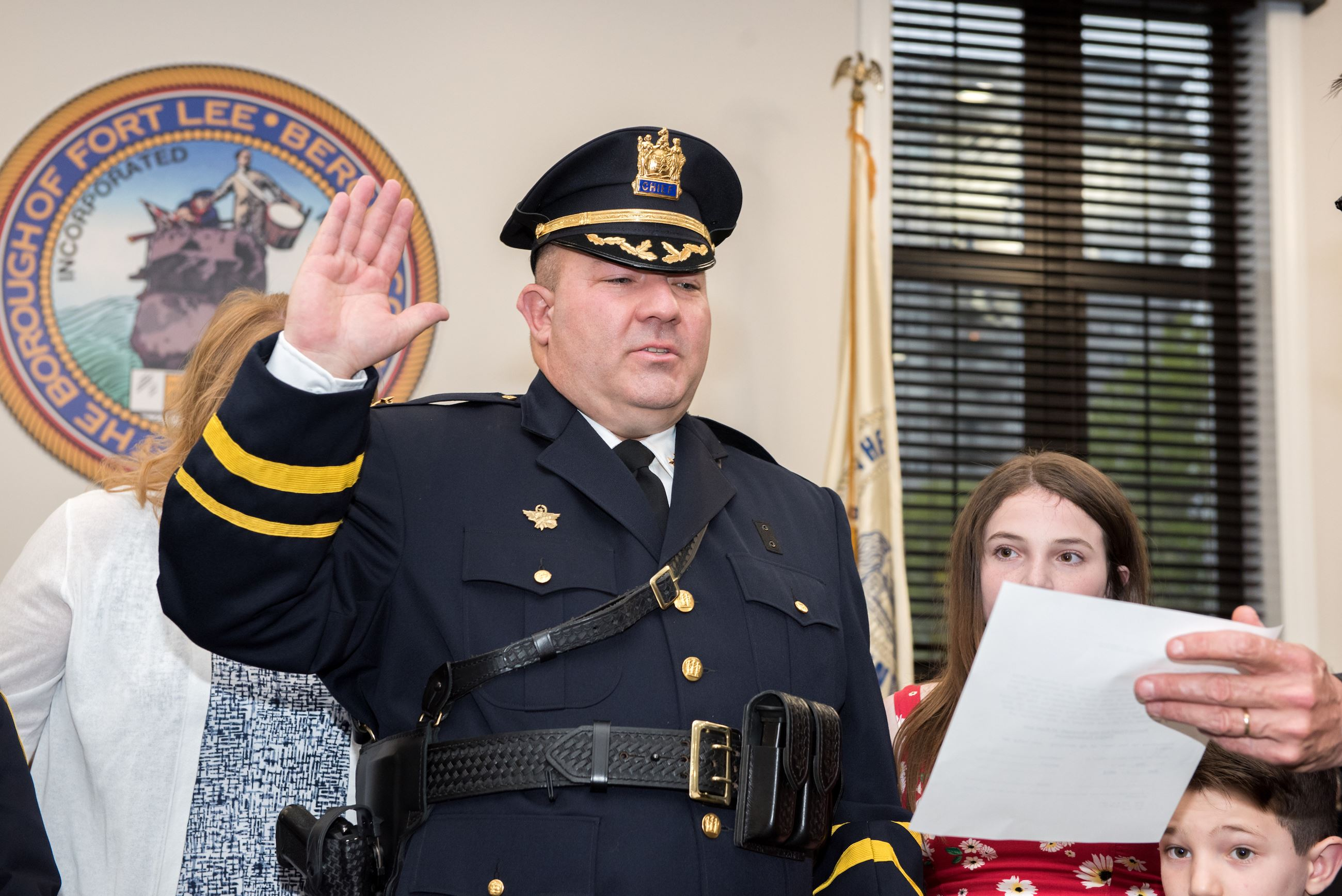 Chiefs Swearing In 5/9/19 -  Chief Hintze