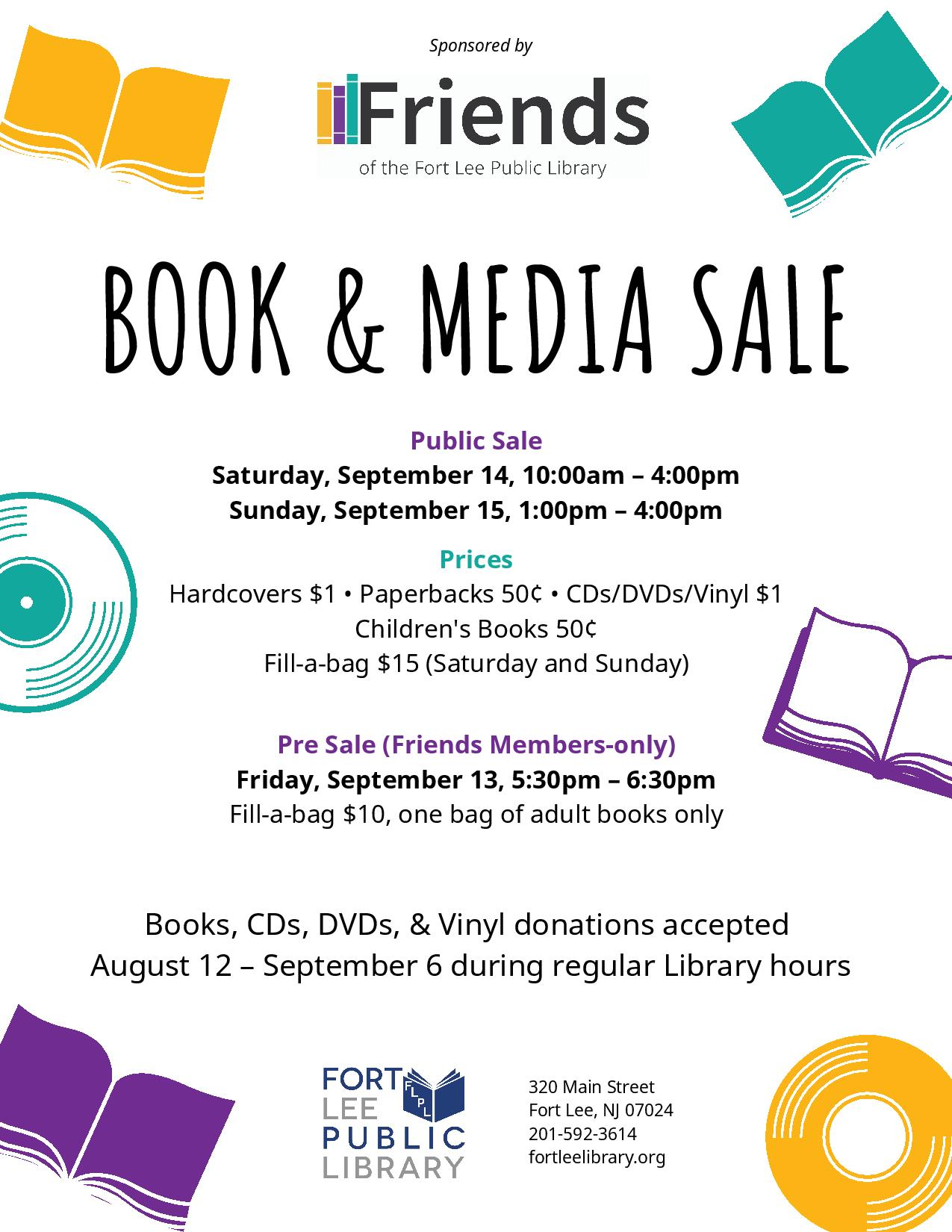 Library Book Sale 2019