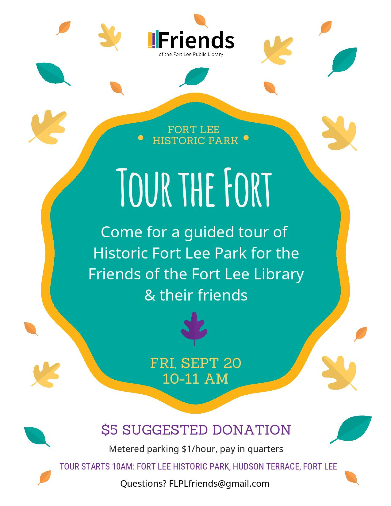 Historic Tour for the Friends 092019