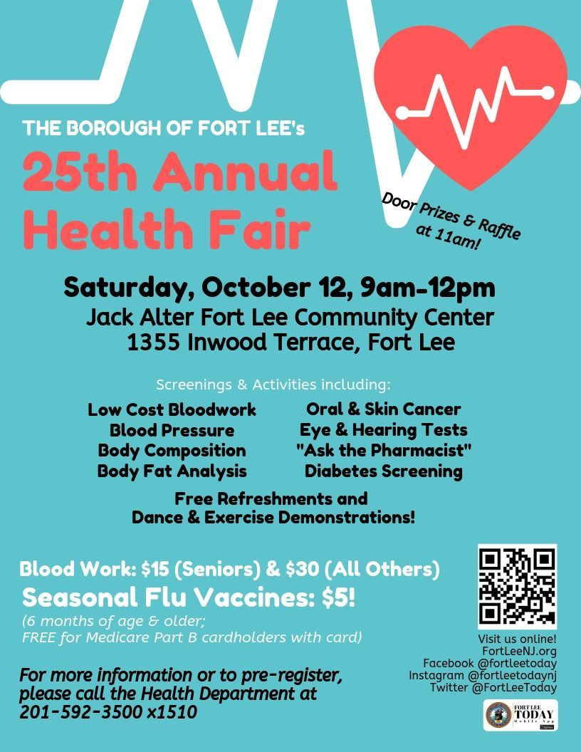 Health Fair One-Sheet 2019