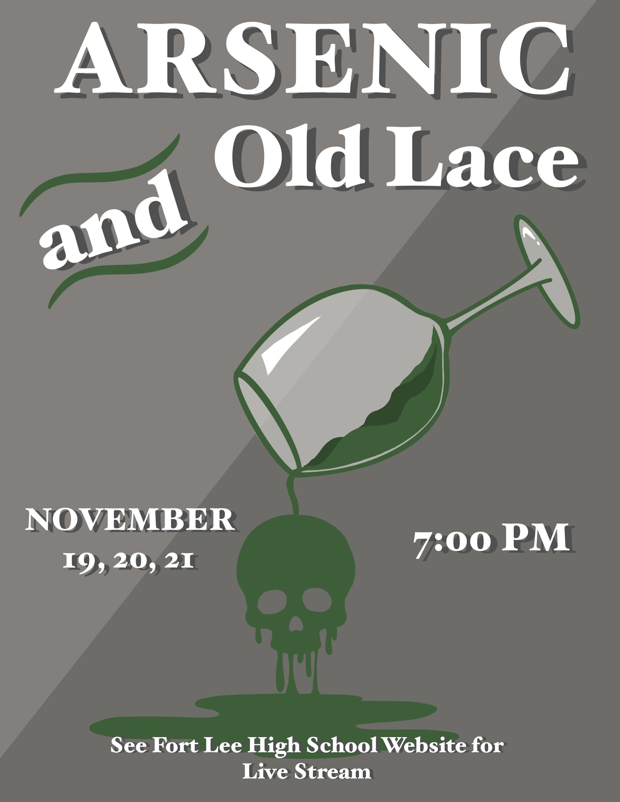 Arsenic and Old Lace November 2020