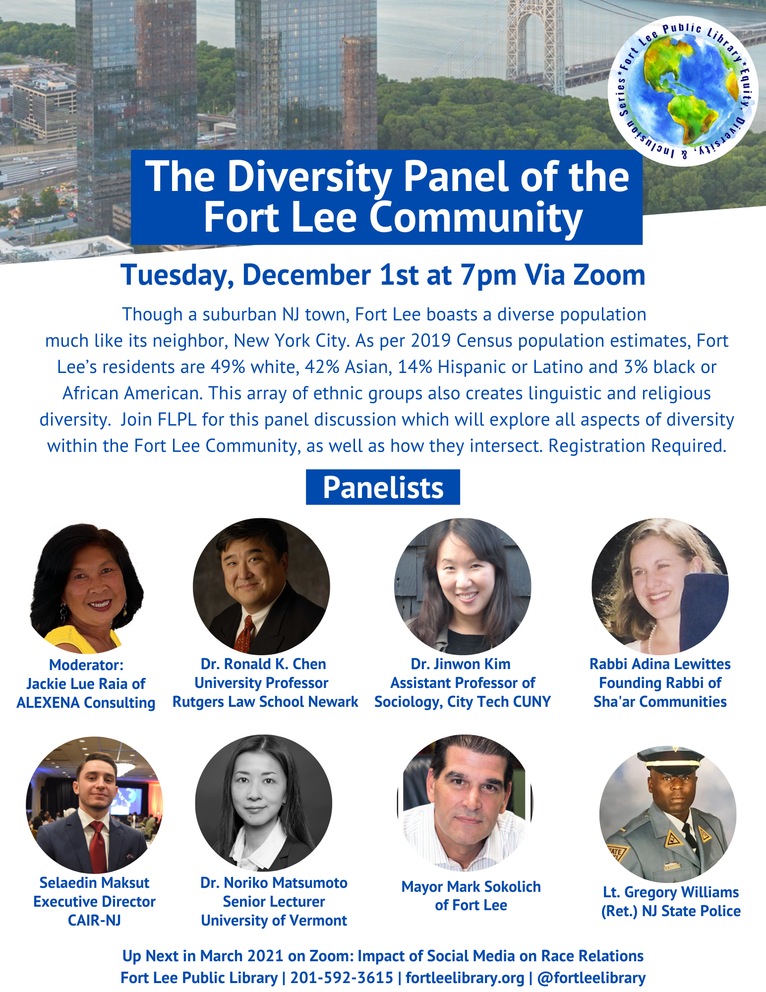 Diversity Panel of the Fort Lee Community 120120