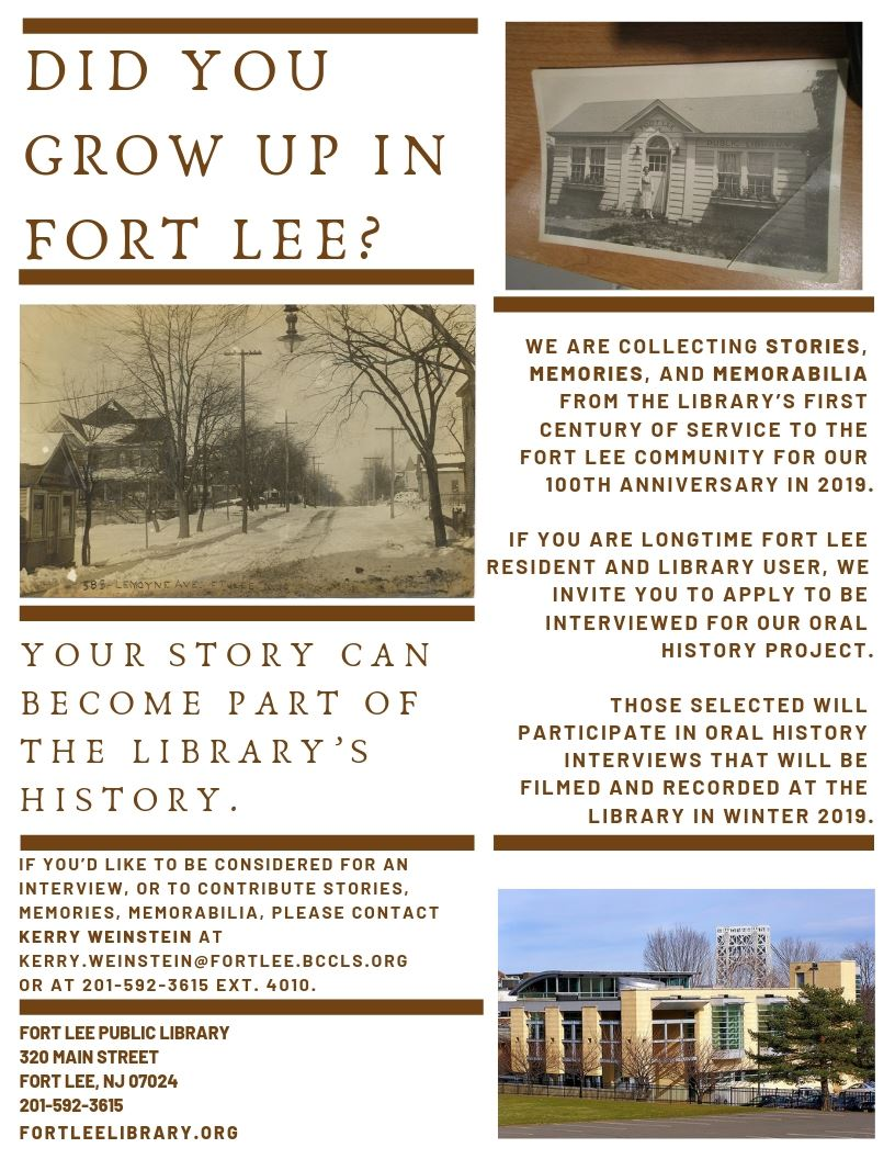 LIBRARY Oral History 2019