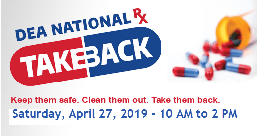 Operation Take Back April 2019