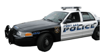 Fort Lee Police Car