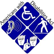 Americans with Disabilities Act Icons