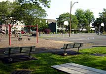 Coytesville Park Playground and Basketball Court Area